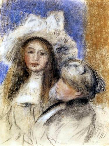 Pierre Auguste Renoir - Berthe Morisot und Julie Manet