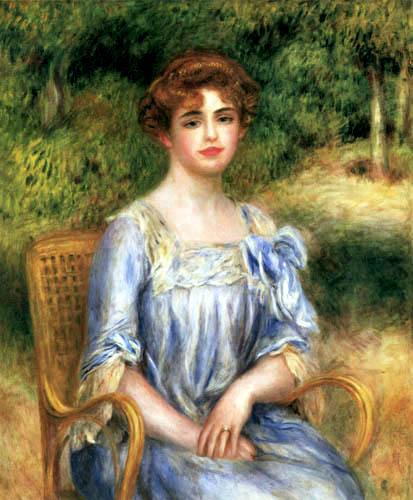 Pierre Auguste Renoir - Madame Bernheim de Villers