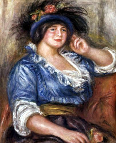 Pierre Auguste Renoir - Madame Colonna Romano