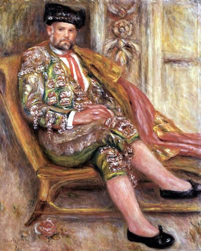 Pierre Auguste Renoir - Ambroise Vollard as a bullfighter