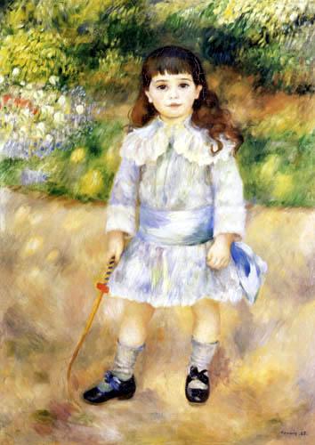 Pierre Auguste Renoir - Mädchen mit Peitsche