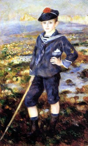 Pierre Auguste Renoir - Matrosenjunge