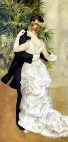 Pierre Auguste Renoir - Tanz in der Stadt