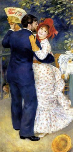Pierre Auguste Renoir - Tanz auf dem Lande