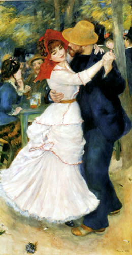 Pierre Auguste Renoir - Dance in Bougival