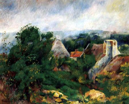 Pierre Auguste Renoir - Ein Haus in La Roche-Guyon
