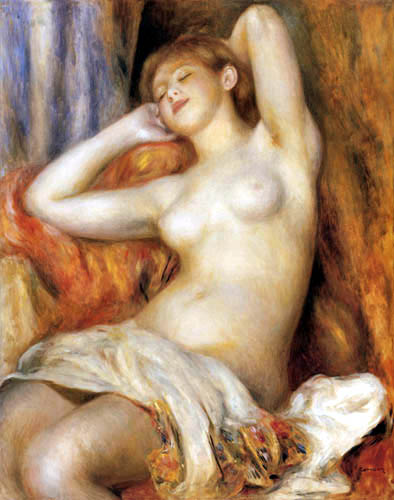 Pierre Auguste Renoir - The sleeping woman