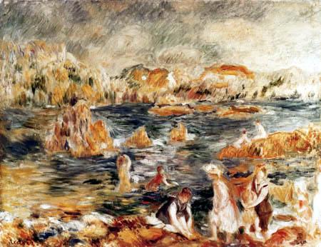Pierre Auguste Renoir - Strand von Guernsey