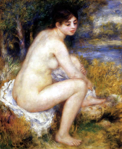 Pierre Auguste Renoir - Female act with