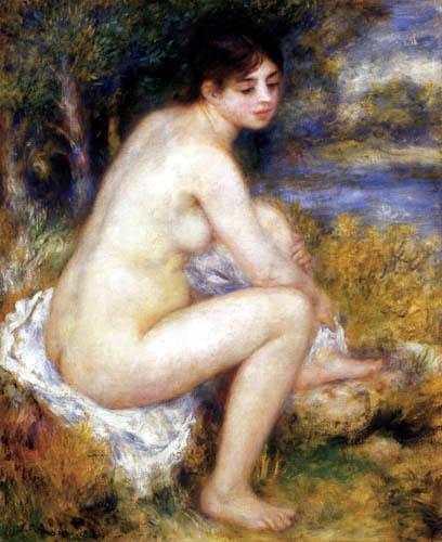 Pierre Auguste Renoir - Weiblicher Akt