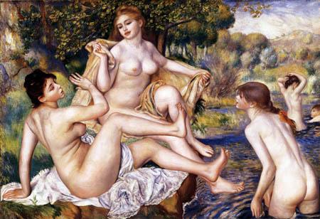 Pierre Auguste Renoir - Die großen Badenden