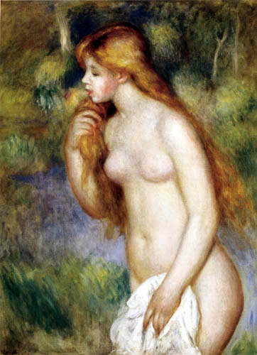 Pierre Auguste Renoir - Stehende Badende