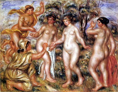 Pierre Auguste Renoir - The Judgement of Paris
