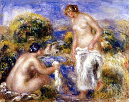 Pierre Auguste Renoir - Badende Frauen
