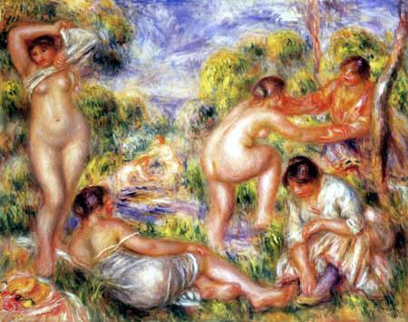 Pierre Auguste Renoir - Bathers