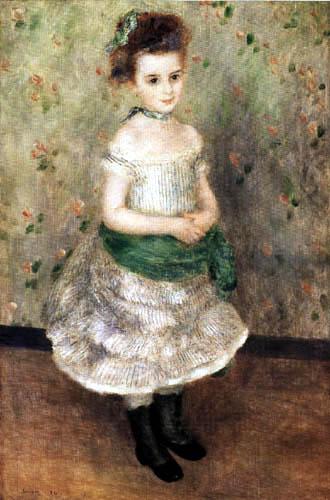 Pierre Auguste Renoir - Jeanne Durand-Ruel