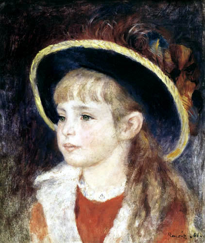 Pierre Auguste Renoir - Jeanne Henriot