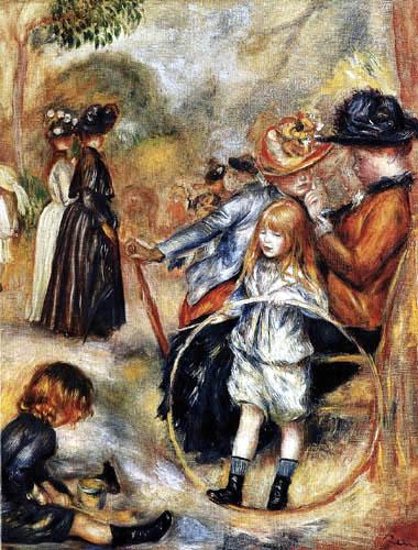 Pierre Auguste Renoir - Im Jardin du Luxembourg