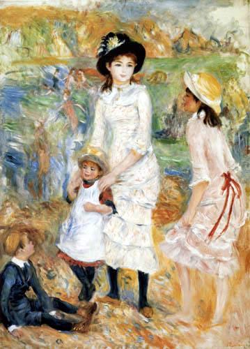 Pierre Auguste Renoir - Kinder an der Küste von Guernsey