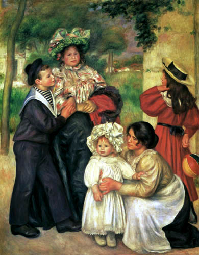 Pierre Auguste Renoir - The Family of the artist