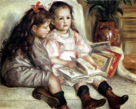 Pierre Auguste Renoir - Portrait of two children