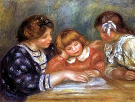 Pierre Auguste Renoir - The instruction