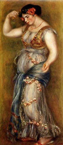 Pierre Auguste Renoir - Tänzerin mit Kastagnetten