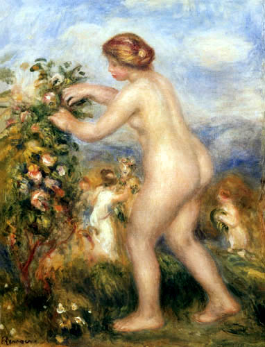 Pierre Auguste Renoir - Ode to the Flowers