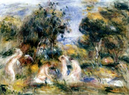 Pierre Auguste Renoir - The bathing
