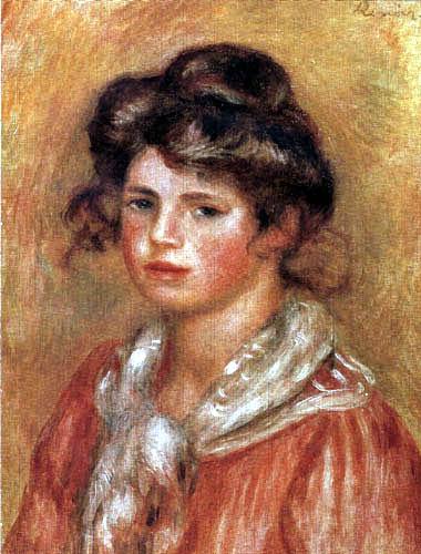 Pierre Auguste Renoir - Gabrielle