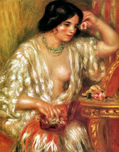 Pierre Auguste Renoir - Gabrielle with casket