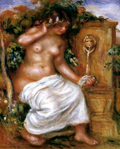 Pierre Auguste Renoir - Die Quelle