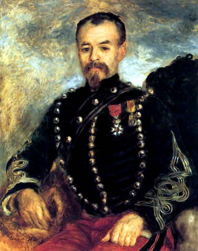 Pierre Auguste Renoir - Capitaine Darras