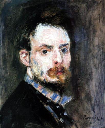 Pierre Auguste Renoir - Selbstporträt