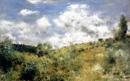 Pierre Auguste Renoir - A Breezy Day