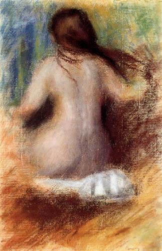 Pierre Auguste Renoir - Nude