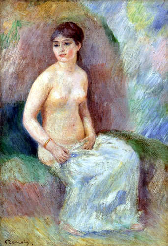 Pierre Auguste Renoir - Bathing girl
