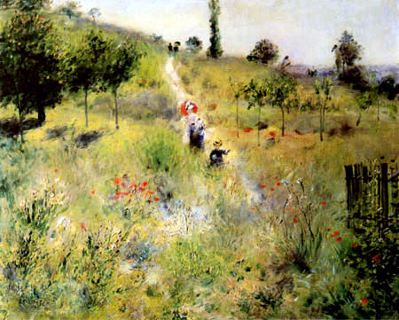 Pierre Auguste Renoir - A Path in Grass