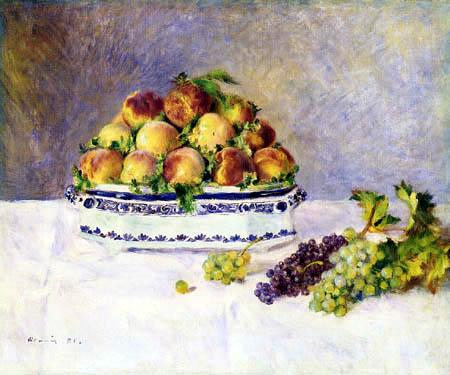 Pierre Auguste Renoir - Still life with peaches