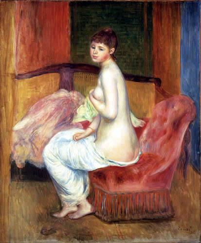 Pierre Auguste Renoir - Junger weiblicher Akt