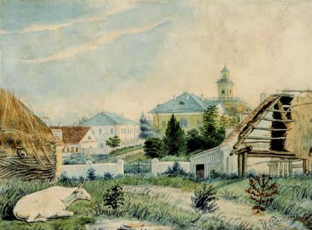 Ilja Jefimowitsch Repin - View of Tschugujew