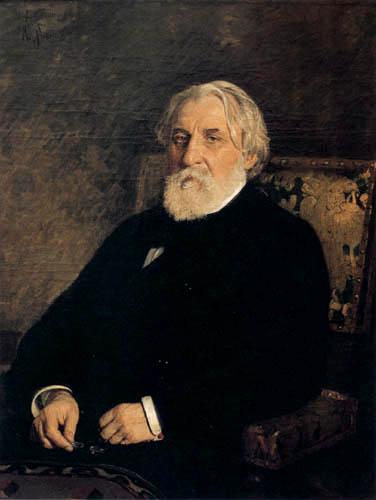 Ilja Jefimowitsch Repin - Bildnis Iwan Turgenjew
