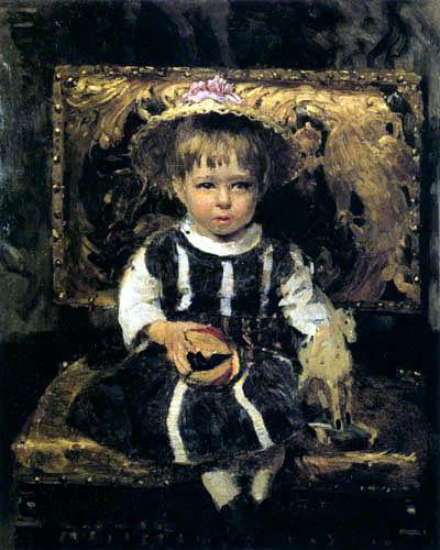 Ilja Jefimowitsch Repin - Retrato de Vera Repin