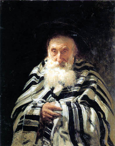 Ilja Jefimowitsch Repin - A praying Jew