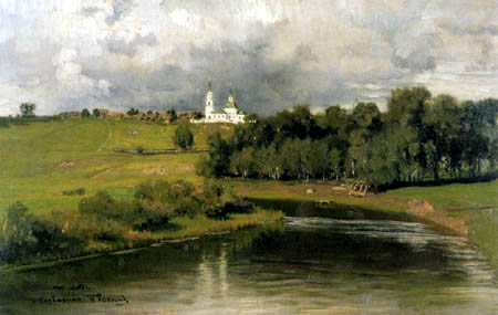 Ilja Jefimowitsch Repin - View of Warwarino