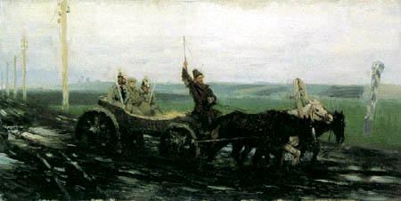 Ilja Jefimowitsch Repin - Unter Bewachung