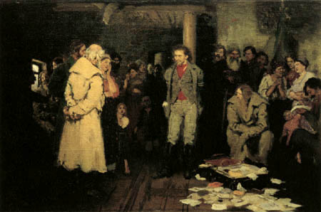 Ilja Jefimowitsch Repin - The arrest of the propagandist
