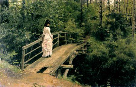 Ilja Jefimowitsch Repin - A Summer Landscape