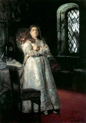 Ilja Jefimowitsch Repin - Zarewna Sophia Alexejewna