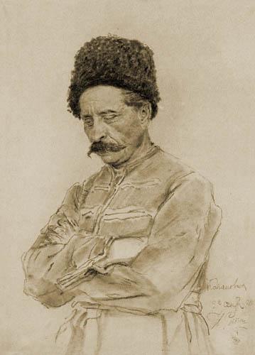 Ilja Jefimowitsch Repin - Cossack